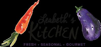 Leabeth's Kitchen Logo Color