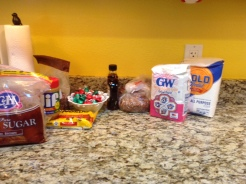 Baking Supplies for Christmas Cookies