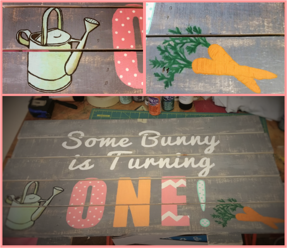 Peter Rabbit, Some Bunny is Turning One, Birthday party, Garden, Carrot, Watering Can