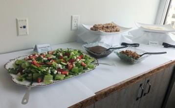 Sandwiches, Garden Salad, Lemon Bars, Raspeberry Bars, Fresh, Seasonal Gourmet