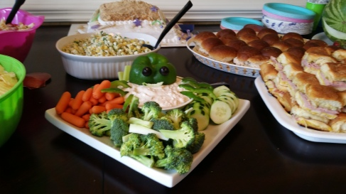 Under the Sea Vegetable Tray!