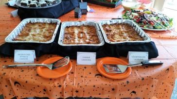 Three types of lasagna