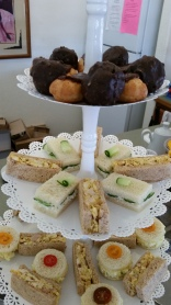Tea Sandwiches for an Afternoon Tea Party