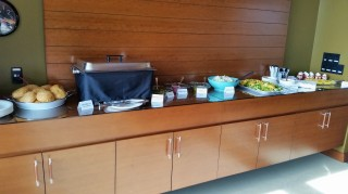 Barbecue Lunch Buffet for Partners Meeting