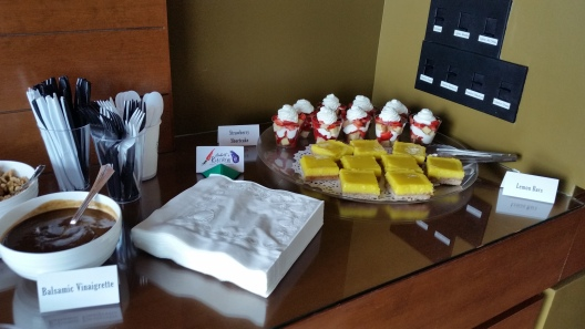 Lemon Bars and Individual Strawberry Shortcakes