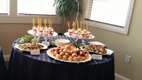 Parisian Themed Bridal Shower Desserts